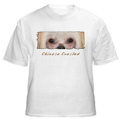 """Chinese Crested   # 2   """" The Eyes Have It """"   Custom   T shirt"""