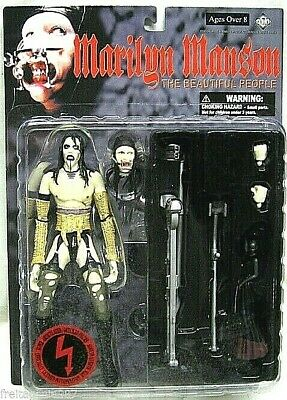 MARILYN MANSON BEAUTIFUL PEOPLE PVC figure 16cm by Fewture