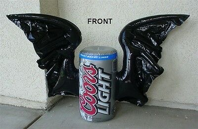 Coors Light Inflatable Halloween Party Bat Wing Beer Can Bar Sign NEW