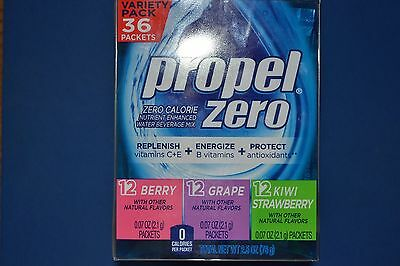 "Propel Zero ""On the Go"" Drink Mix Packets ** Water Enhancers ~~~~ Sugar Free"