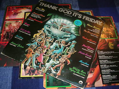 """THANK GOD IT'S FRIDAY ost DLP & 12"""" Donna Summer Cameo"""