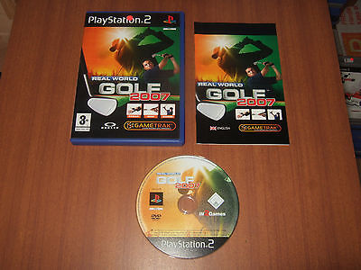 Real World Golf 2007 Sony Playstation 2 PS2