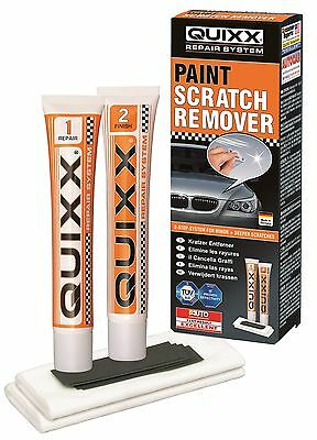 QUIXX 2 Step Car Vehicle All Paint Scratch Scuff Restorer Remover Kit #Q1