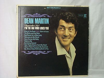 """DEAN MARTIN, """"I'M THE ONE WHO LOVES YOU"""" VINYL RECORD 33 LP"""