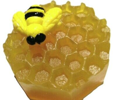 BUMBLE BEE Honey SOAP MOULD Candles/Melts,crafts, Silicone New Hand Crafted Mold