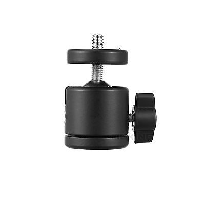 """Mini Ball Head Fits For Camera/Stand Tripod Ballhead With 1/4"""" to 3/8"""" Adapter"""