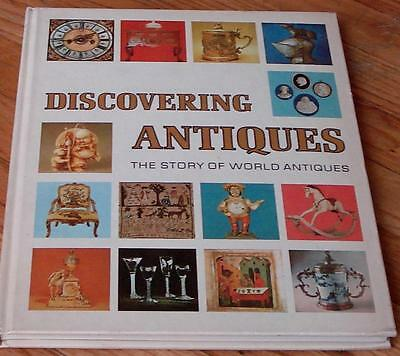 Discovering Antiques, The Story of World Antiques, 1972, HARD COVER, GD CND