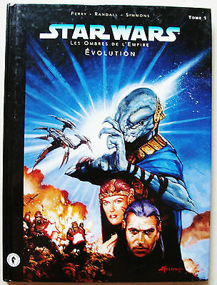 Star Wars Les Ombres de L'Empire Tome 1 Evolution Perry Randall Simmons 1998