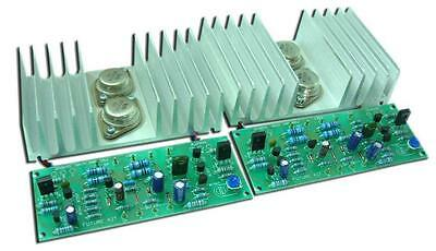 FA661: Power Amplifier OCL 50+50W Stereo R1% Assembled Future Circuit Board Kit