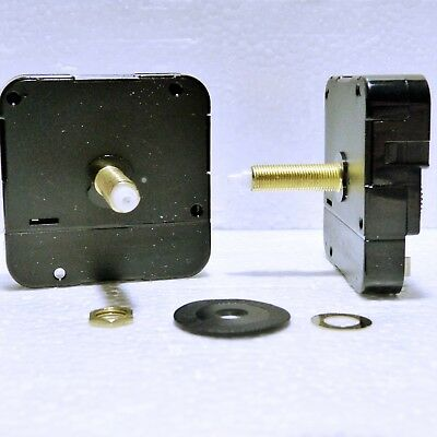 Quartz clock movement with extra long 31mm shaft and huge choice of hands,
