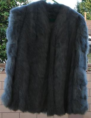 Gently Used  Vintage Faux  Fur Coat, GREAT COLOR VERY GOOD CONDITION