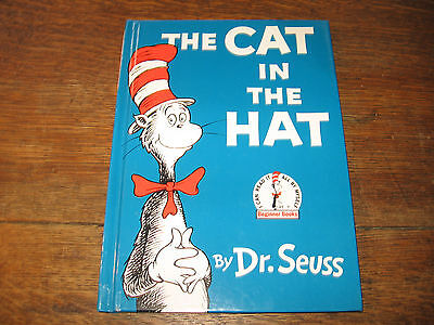 """HARDCOVER BOOK """" THE CAT IN THE HAT """" DR. SEUSS"""