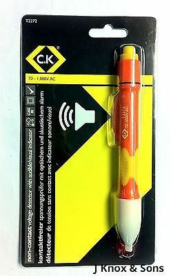 Ck Non Contact Voltage Detector with Audible & Visual Indicator T2272A