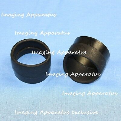 New Microscope Eyepiece  Rubber Eyeguards, Eye Guards, Eye Shield 33-35 mm TOP