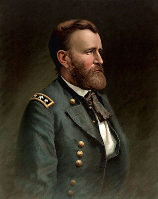 Dream-art hand painted Oil painting America PRESIDENT - Ulysses S. Grant canvas