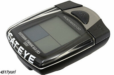 Ciclocomputer Cateye CD300DW Double Wireless Cadence and Speed Bicycle Cycling