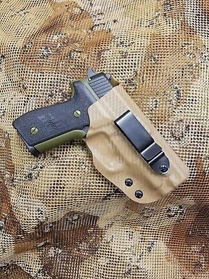 GUNNER'S CUSTOM HOLSTERS fits SIG Sauer IWB Concealment Holster Tuckable
