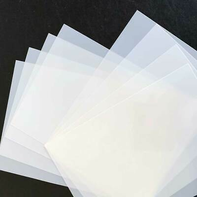 Blank Mylar Stencil Sheets -Various sizes-Cut your own stencils-125 micron Mylar