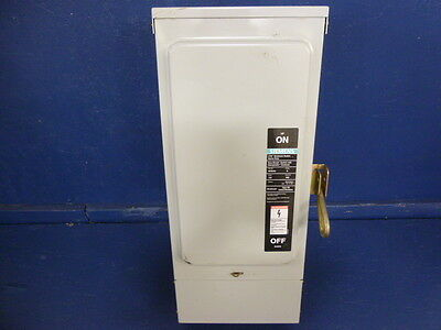 Siemens I-T-E Heavy Duty Enclosed Switch NFR354 Series B 200A 600VAC 3-Ph
