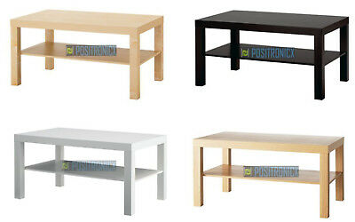 Coffee Table Ikea Lack With Shelf Modern & Elegant Office Dinning Living Table