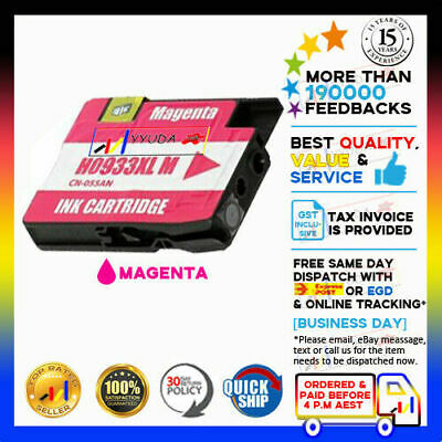 1x Compatible Ink Cartridge HP 932XL 933 933XL for Officejet 6600 6600e Printer