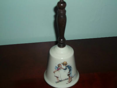 Norman Rockwell Gorham Fine China Beguiling Buttercup 1979 Bell Nwt