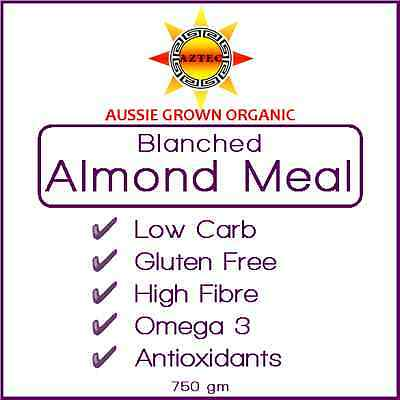 Almond Meal/Flour Blanched Organic Australian 750gm