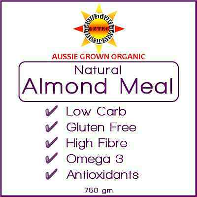 Almond Meal Natural Organic Australian 750gm