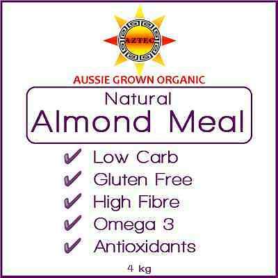 Almond Meal Natural Organic Australian 4kg