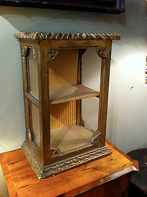 18Th Century Italian Gilt Wood Wall Hanging Shelf