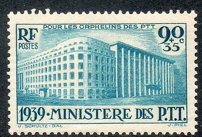Timbres de France Poste N° 424  Neuf **