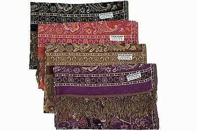 Lot of 12 NEW Soft 100% Pashmina Shawl Cashmere Scarf Stole Rose Fashion Women
