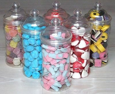 Victorian Sweet Jar Full of Traditional British Retro Sweets Vintage Style