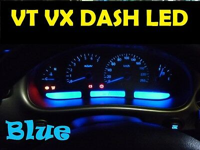 BLUE LED Complete Dash CLuster and LCD Light Kit Bulbs For VT VX VU Commodore