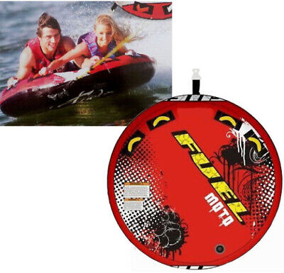FUEL MOTO (2 PERSON / 146cm) TOWABLE TUBE SURF SKI BISCUIT INFLATABLE