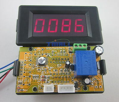 12V 4 Digits Red LED Counter Panel Meter Up Down Relay output for Game Machine