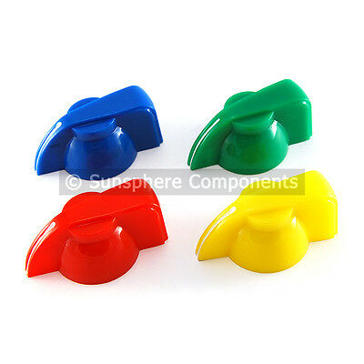 Chicken Head Pointer Knob for 6.3mm Shaft - 1st Class UK Post
