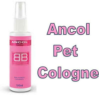 ANCOL Cologne for Dogs ~ Baby Powder Fragrance ~ All Over Body Fragrance ~ 100ml