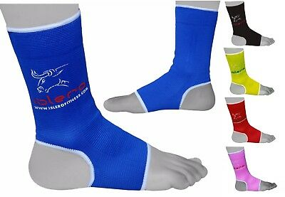 Evo Fitness Anklet Protector MMA Support Boxing Guard Kick Boxing Muay Thai Pair