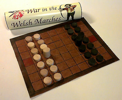 Play with History War in the Welsh Marches strategy board game