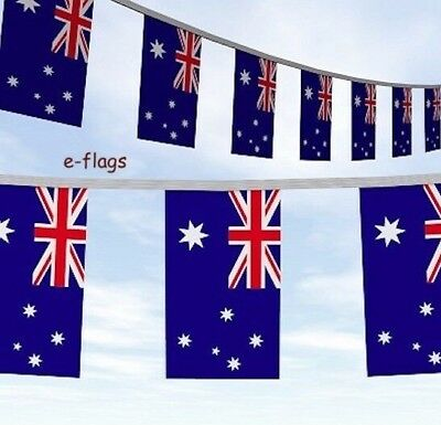 Rugby World Cup Huge 33Ft Oz Australia Day Australian Flags Bunting