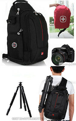SWISS GEAR Sling Camera Case Shoulder Bag Backpack NIKON CANON SONY SLR SA0372C