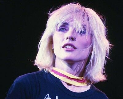 Blondie Debbie Harry Awesome Poster Scarf 10x8 Photo