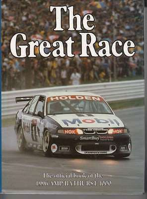 The Great Race Number 16 The Official Book Of the 1996 AMP Bathurst 1000, annual