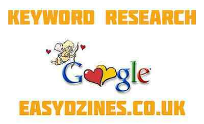 Niche / Keyword Research for Web Site, SEO Marketing SEARCH ENGINE OPTIMISATION
