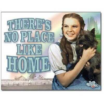 The Wizard of Oz Movie Dorothy There's No Place Like Home Photo Tin Sign, NEW