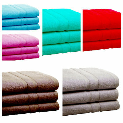 LARGE/JUMBO BIG 3 BATH SHEETS 85CM X 165CM  100% SOFT COTTON  Super Towels