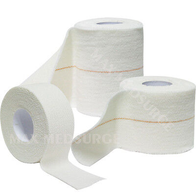 EAB Elastic Adhesive Bandage - Assorted SIZES, First Aid, Lifting Rugby Tape, CE