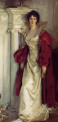 Dream-art oil painting Sargent - Noblelady Winifred Duchess of Portland standing