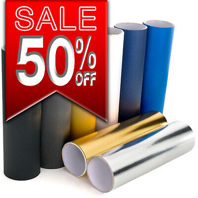 Brushed Aluminium Vinyl / Steel / Scratched Metal Wrap Sticker Film, All Colours